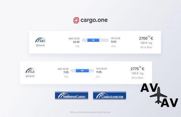 AirBridgeCargo и CargoLogicAir подключились к грузовому онлайн-агрегатору